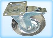 колесо с тормозом на строителную вышку туру серии ГИГИНТ